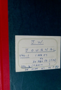 Joseph Witriol's Journal: Volume 1